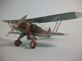 Roden Heinkel He51 B2 BiPlane Plastic Model Airplane Kit 1/48 Scale #rd0453