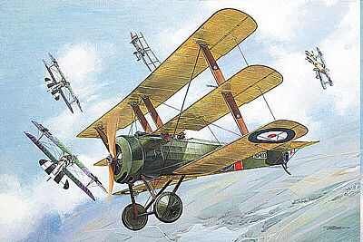 Roden Sopwith Triplane Plastic Model Airplane Kit - 1/32 Scale #rd0609