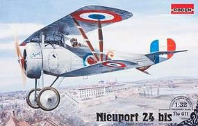 Roden Nieuport 24 BIS Plastic Model Airplane Kit - 1/32 Scale #rd0611