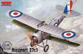 Roden Nieuport 27c1 Plastic Model Airplane Kit 1/32 Scale #rd0630