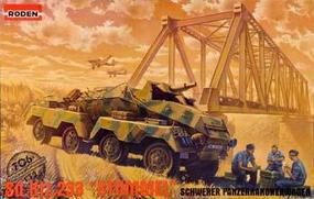 Roden Sd.Kfz.233 Stummel Plastic Model Military Vehicle Kit 1/72 Scale #rd0706