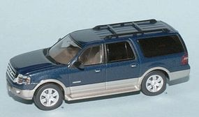 RiverPoint 2007 Ford Expedition EL Eddie Bauer Edition SUV HO Scale Model Railroad Vehicle #536760505
