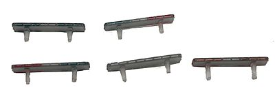River Point Station Emergency LED-Style 52'' Light Bars (Non-Working) -- HO Scale Model Railroad Vehicle -- #537525131