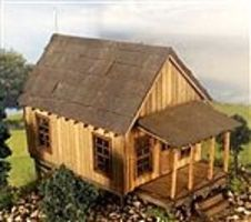 RS-Laser Carl's Cabin Kit O Scale Model Railroad Building #1048
