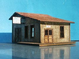 RS-Laser Pauls Repair Shop HO Scale Model Railroad Building #2006
