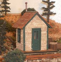 RS-Laser Chelsea Station HO Scale Model Railroad Building #201