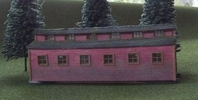 RS-Laser Camp Dinning Shack Kit HO Scale Model Railroad Building #2021
