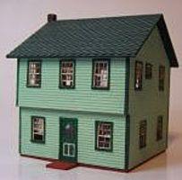 RS-Laser Cape House Kit HO Scale Model Railroad Building #2032