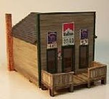 RS-Laser Toms Country Store Kit HO Scale Model Railroad Building #2038