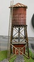RS-Laser Madden Corner Water Tower HO Scale Model Railroad Building #2053