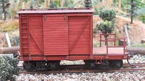 RS-Laser 24 Maintenance Of Way Caboose Kit HO Scale Model Train Freight Car #2402