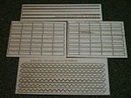 RS-Laser 3 Stair Treads Kit HO Scale Model Railroad Building Accessory #2503