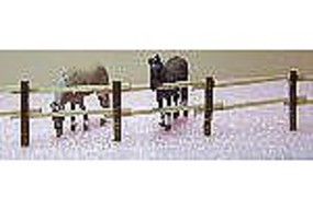 RS-Laser Split 2 Rail Fence Kit HO Scale Model Railroad Building Accessory #2510