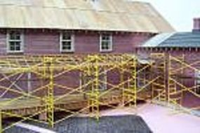RS-Laser Scaffolding Kit HO Scale Model Railroad Building Accessory #2513