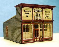 RS-Laser Dakras Dry Goods Kit N Scale Model Railroad Building #3023