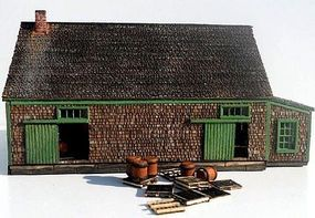 RS-Laser Potato House Kit N Scale Model Railroad Building #302