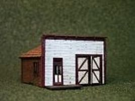 RS-Laser 1880 Main Street Shop Kit N Scale Model Railroad Building #3031