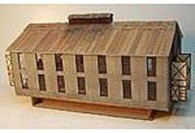 RS-Laser 2 Stall Block Engine House Kit N Scale Model Railroad Building #3034