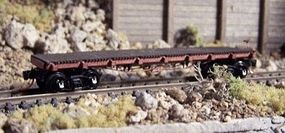RS-Laser 40 Flat/Gondola N Scale Model Train Freight Car #3400