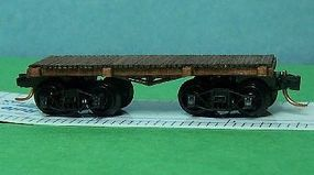 24' Flat/Gondola N Scale Model Train Freight Car #3403