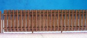 RS-Laser Good Neighbor Fence Kit N Scale Model Railroad Building Accessory #3504