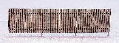 RS Laser Kits 6' Security Fence Kit -- N Scale Model Railroad Building Accessory -- #3505