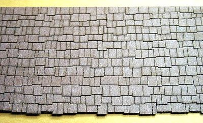 RS-Laser Shake Shingles N Scale Model Railroad Building Accessory #3920