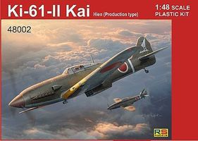 RS Ki61II Kai Hien Japanese Aircraft Plastic Model Airplane Kit 1/48 Scale #48002