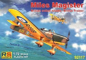 RS Miles Magister British Trainer Plastic Model Airplane Kit 1/72 Scale #92117