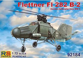 RS Flettner FI282 B2 German WWII Helicopter Plastic Model Helicopter Kit 1/72 Scale #92184