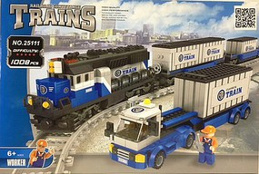 RRtrainblocks Container Train Set 1008p