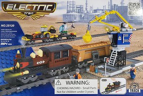 RRtrainblocks Electric Train Block Set