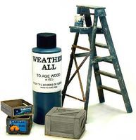 Rustall Weatherall for Aging Wood w/out Warping 4oz. Bottle