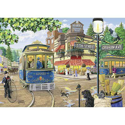 Ravensburger Mary's General Store 300pcs -- Jigsaw Puzzle 0-599 Piece -- #13571