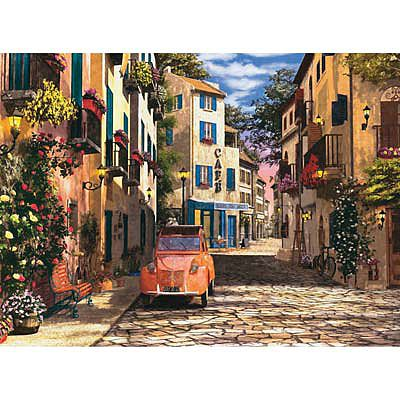 Ravensburger In the Heart Of Southern France 500pcs -- Jigsaw Puzzle 0-599 Piece -- #14253