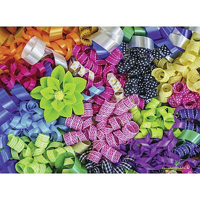 Ravensburger Colorful Ribbons 500pcs -- Jigsaw Puzzle 0-599 Piece -- #14691