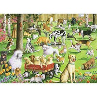Ravensburger At The Dog Park 500pcs Large Format Jigsaw Puzzle 0-599 Piece #14870