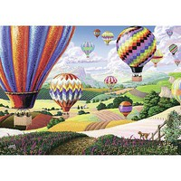 Ravensburger Brilliant Balloons 500pcs Large Format Jigsaw Puzzle 0-599 Piece #14871