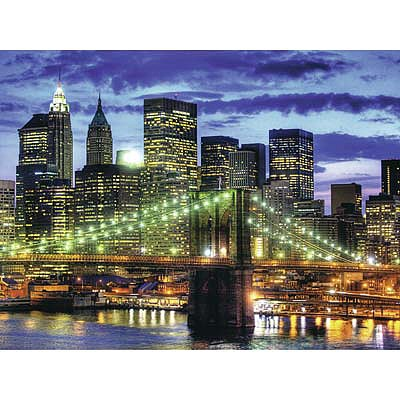Ravensburger Skyline New York City 1500pcs -- Jigsaw Puzzle Over 1000 Piece -- #16272
