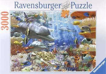 Ravensburger Oceanic Wonders 3000pcs -- Jigsaw Puzzle Over 1000 Piece -- #17027