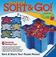 Ravensburger Puzzle Sort & Go Jigsaw Puzzle Glue Mat Accessory #17930