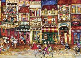 Ravensburger Streets Of France 1000pcs Jigsaw Puzzle 600-1000 Piece #19408