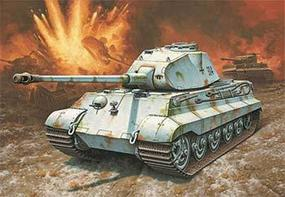 Revell-Germany King Tiger II Ausf B Porsche Prototype Plastic Model Military Vehicle Kit 1/72 Scale #03138