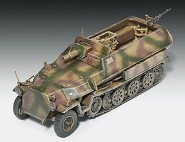 Revell-Germany SdKfz 251/9 Ausf C Plastic Model Military Vehicle Kit 1/72 Scale #03177