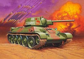 Revell-Germany T-34/76 Plastic Model Military Vehicle Kit 1/35 Scale #03244