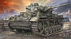 Revell-Germany PzKpfw III Ausf.L Plastic Model Military Vehicle Kit 1/72 Scale #03251