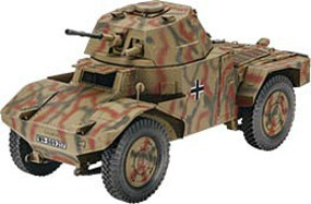 Revell-Germany Armoured Scout Vehicle P 204 (f) Plastic Model Military Vehicle Kit 1/35 Scale #03259