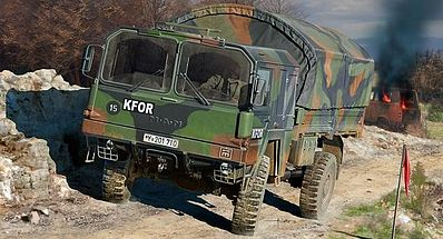 Revell-Germany LKW 5t. mil gl Plastic Model Military Vehicle Kit 1/72 Scale #03300