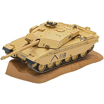 Revell-Germany Challenger Plastic Model Tank Kit 1/72 Scale #03308