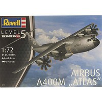 Airbus A400M Luftwaffe Plastic Model Airplane Kit 1/72 Scale #03929
